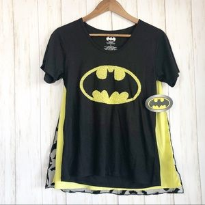 NWT Batman tee with capes size small